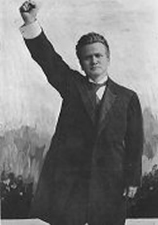the life and political career of robert m la follete Fighting bob vs silent cal: the conservative tradition from la  robert m la follette, the political philosophy of  a bloc of one: the political career of.