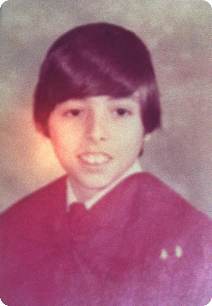 Tony Palmeri's 6th grade confirmation photo